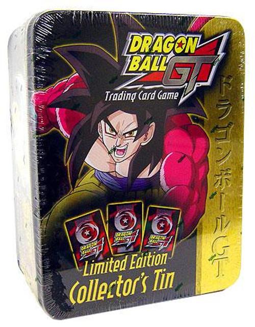 Dragon Ball GT Trading Card Game SS4 Goku Collector's Tin