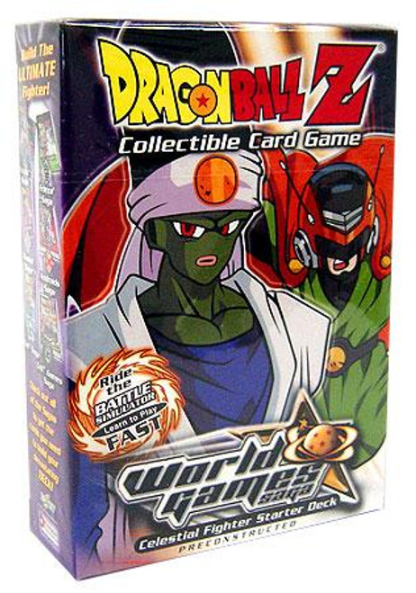 Dragon Ball Z Collectible Card Game World Games Saga Villain Starter Deck [Celestial Fighter]