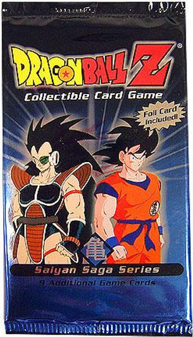 Dragon Ball Z Collectible Card Game Saiyan Saga Series Booster Pack