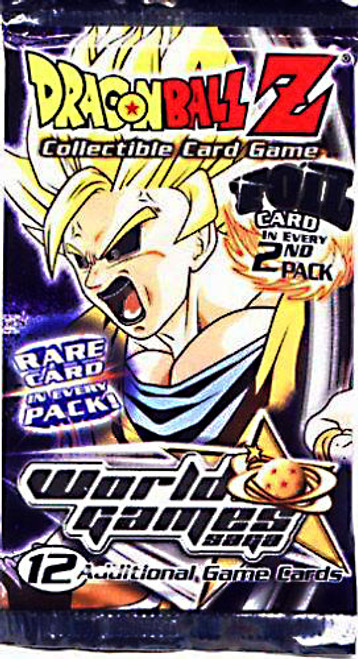 Dragon Ball Z Collectible Card Game World Games Saga Booster Pack
