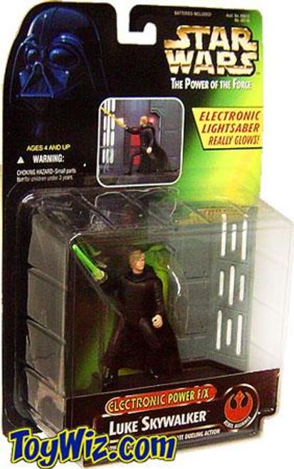 Star Wars Return of the Jedi Power of the Force POTF2 Electronic Power F/X Luke Skywalker Action Figure