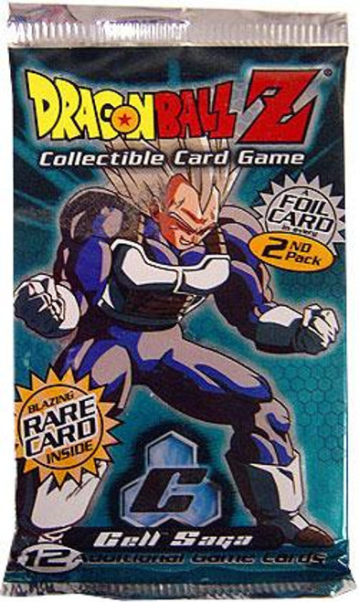 Dragon Ball Z Collectible Card Game Cell Saga Booster Pack