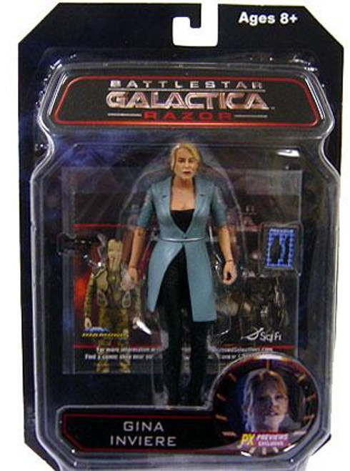 Battlestar Galactica Gina Inviere Exclusive Action Figure