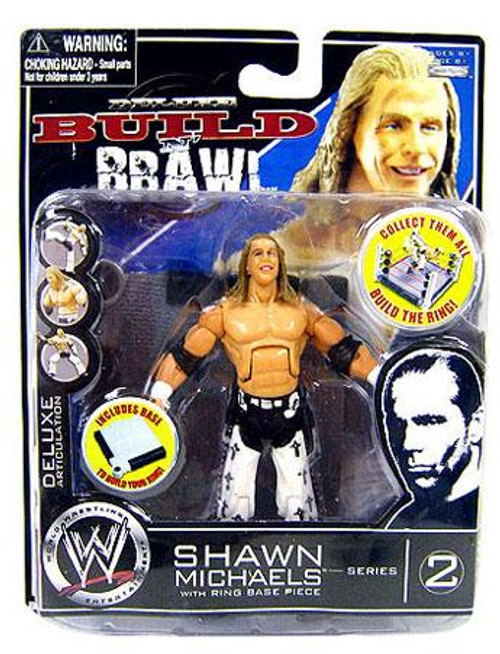 WWE Wrestling Build N' Brawl Series 2 Shawn Michaels Action Figure