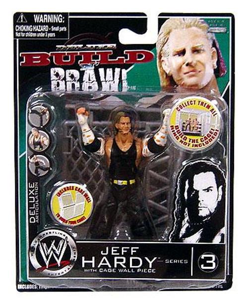 WWE Wrestling Build N' Brawl Series 3 Jeff Hardy Action Figure