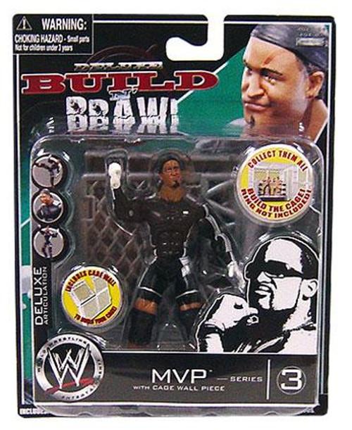 WWE Wrestling Build N' Brawl Series 3 MVP Action Figure