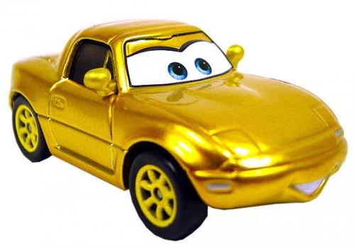 Disney Cars Loose Gold Mia Diecast Car [Loose]