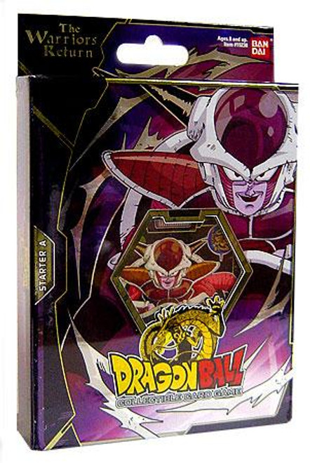 Dragon Ball Collectible Card Game Warriors Return Frieza Theme Deck [A]