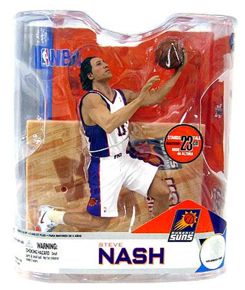 McFarlane Toys NBA Phoenix Suns Sports Picks Series 14 Steve Nash Action Figure [White Jersey Variant]
