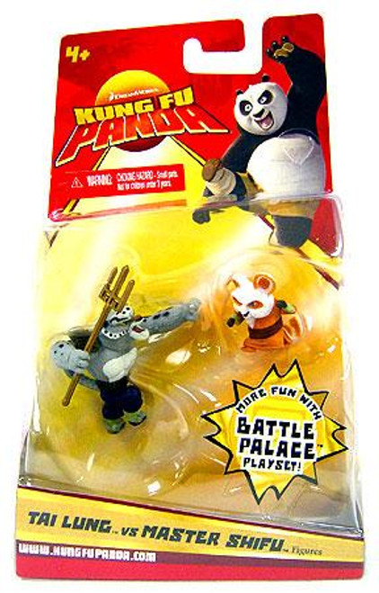 Kung Fu Panda Tai Lung & Master Shifu Mini Figure 2-Pack