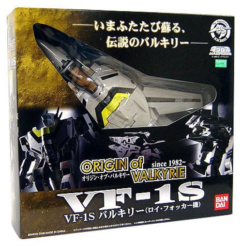 Robotech Macross 25th Anniversary Origin of Valkyrie VF-1S Action Figure