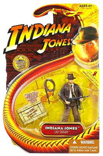 The Last Crusade Series 3 Indiana Jones Action Figure [With Submachine Gun]