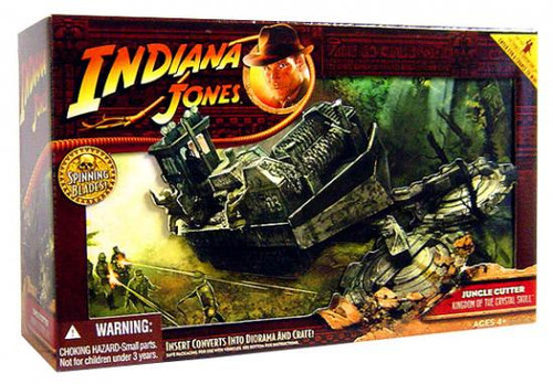 Indiana Jones Kingdom of the Crystal Skull Jungle Cutter Action Figure Vehicle