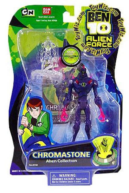 Ben 10 Alien Force Alien Collection Chromastone Action Figure