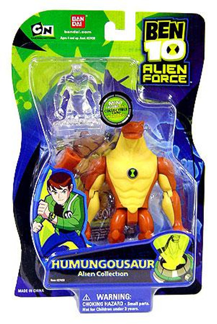 Ben 10 Alien Force Alien Collection Humungousaur Action Figure