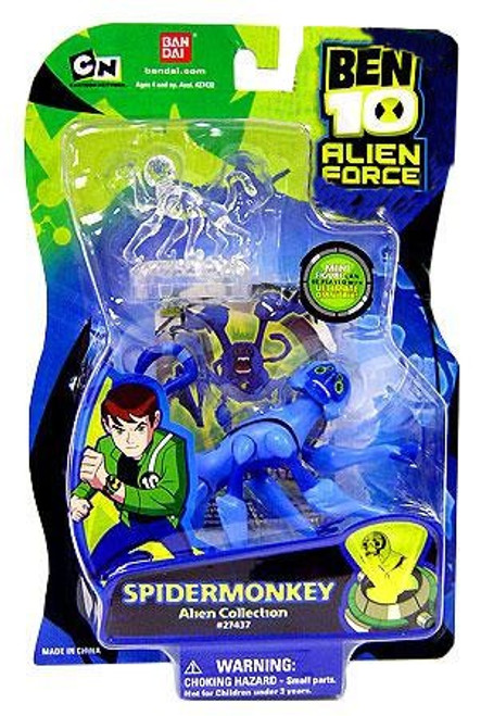 Ben 10 Alien Force Alien Collection Spidermonkey Action Figure
