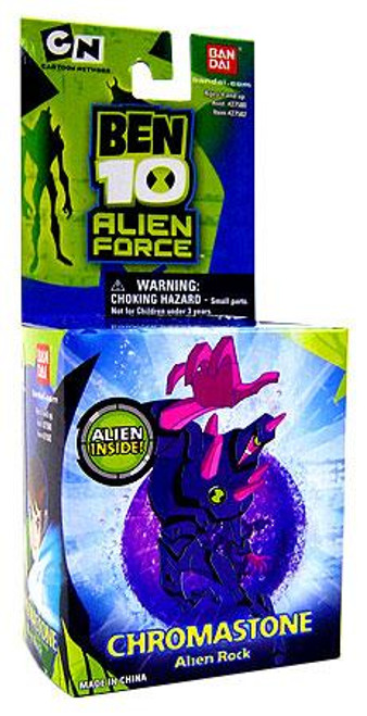Ben 10 Alien Force Alien Rock Chromastone 1-Inch Mini Figure