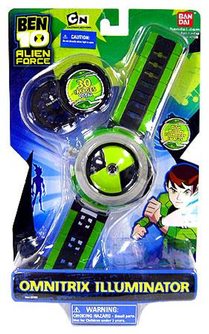 Ben 10 Alien Force Omnitrix Illuminator Watch