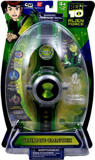 Ben 10 Alien Force Watch Ultimate Omnitrix Roleplay Toy