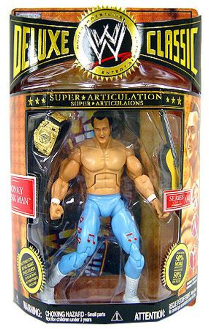 WWE Wrestling Deluxe Classic Superstars Series 4 Honky Tonk Man Exclusive Action Figure