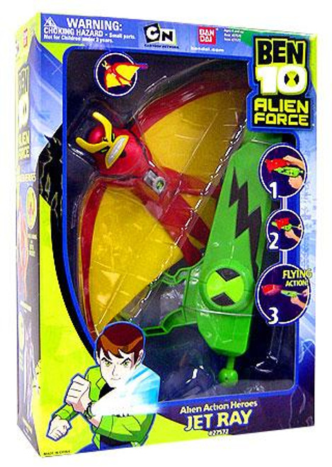 Ben 10 Alien Force Alien Action Heroes Jetray Action Figure