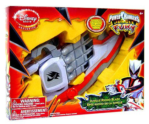 Power Rangers Jungle Fury Jungle Rhino Blade Exclusive Roleplay Toy