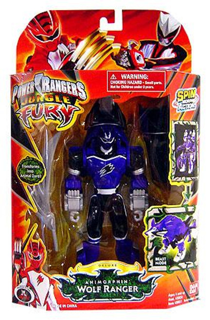 Power Rangers Jungle Fury Deluxe Animorphin Wolf Ranger Action Figure