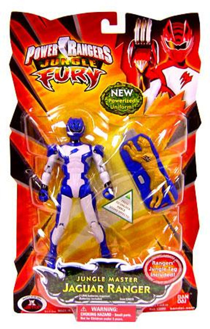 Power Rangers Jungle Fury Jungle Master Jaguar Ranger Action Figure