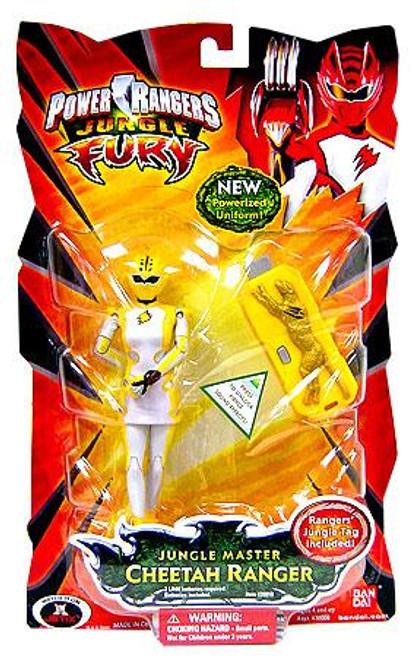 Power Rangers Jungle Fury Jungle Master Cheetah Ranger Action Figure
