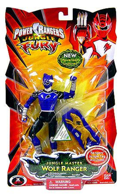Power Rangers Jungle Fury Jungle Master Wolf Ranger Action Figure