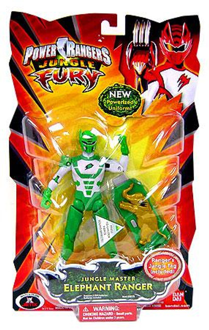 Power Rangers Jungle Fury Jungle Master Elephant Ranger Action Figure