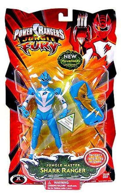 Power Rangers Jungle Fury Jungle Master Shark Ranger Action Figure