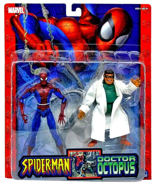 Spider-Man Spiderman vs. Doctor Ock Action Figure 2-Pack