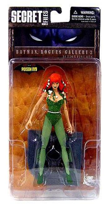 Secret Files Series 3 Batman Rogues Gallery 2 Poison Ivy Action Figure