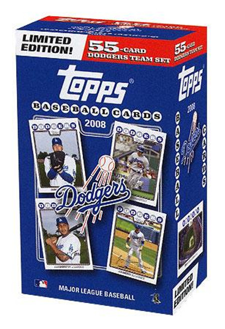 MLB 2008 Topps Baseball Cards Los Angeles Dodgers Team Set [Collector's Edition]