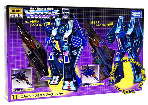Transformers Japanese Renewal Encore Skywarp & Thundercracker Action Figure #11