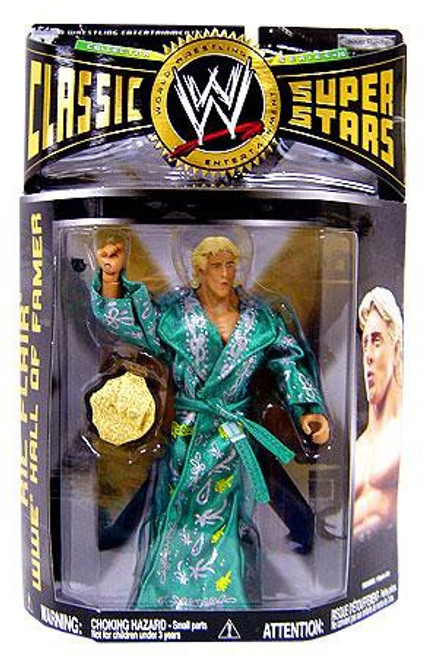 WWE Wrestling Classic Superstars Series 20 Ric Flair WWE Hall of Fame Action Figure [Damaged Package]