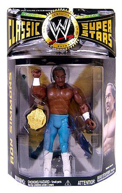 WWE Wrestling WCW Classic Superstars Series 20 Ron Simmons Action Figure