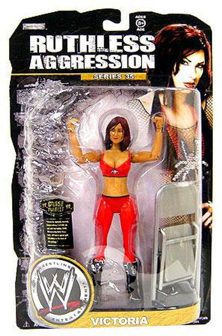 WWE Wrestling Ruthless Aggression Series 35 Victoria Action Figure