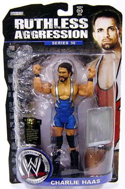 WWE Wrestling Ruthless Aggression Series 36 Charlie Haas Action Figure