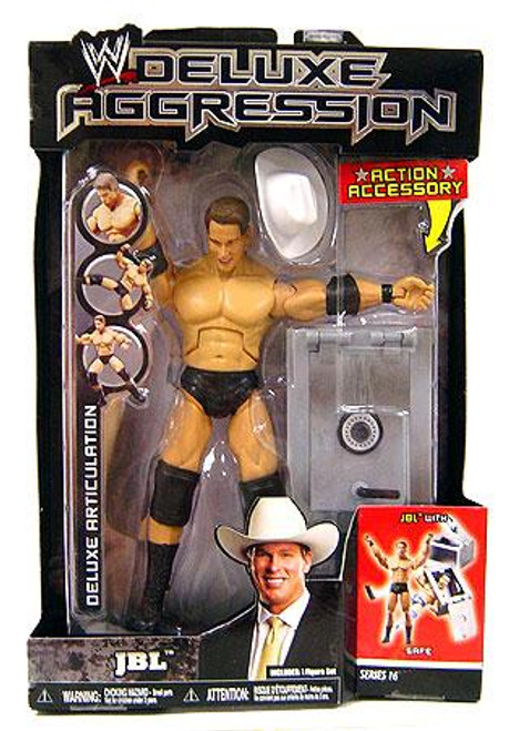 WWE Wrestling Deluxe Aggression Series 16 JBL Action Figure