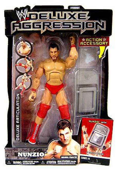 WWE Wrestling Deluxe Aggression Series 16 Nunzio Action Figure