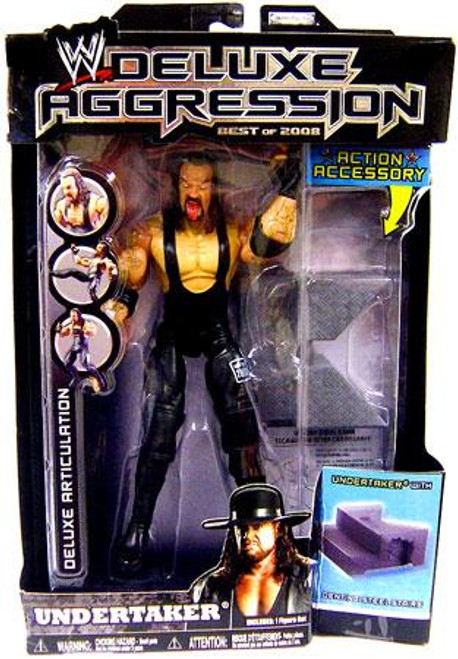 WWE Wrestling Deluxe Aggression Best of 2008 Undertaker Action Figure