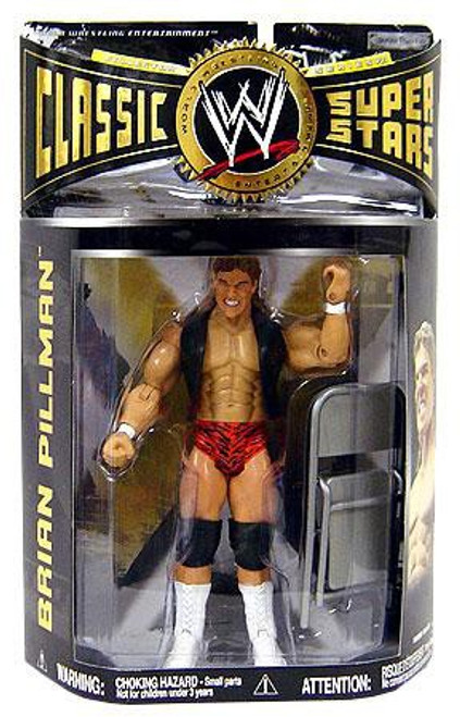 WWE Wrestling Classic Superstars Series 21 Brian Pillman Action Figure