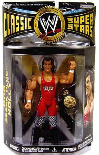 WWE Wrestling Classic Superstars Series 22 Bob Spark Plug Holly Action Figure