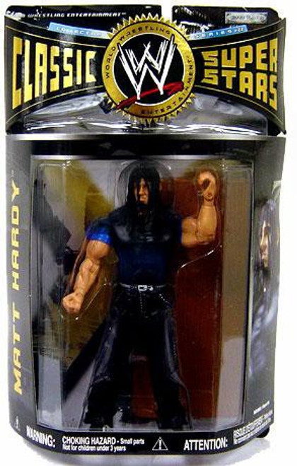 WWE Wrestling Classic Superstars Series 22 Matt Hardy Action Figure