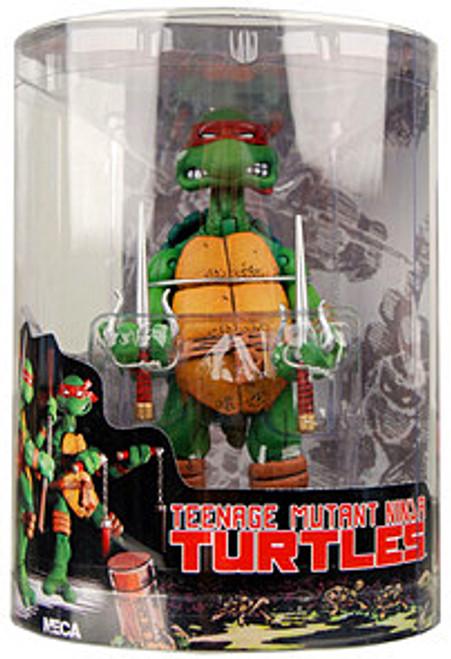 NECA Teenage Mutant Ninja Turtles Mirage Comic Raphael Action FIgure [Tube Packaging]