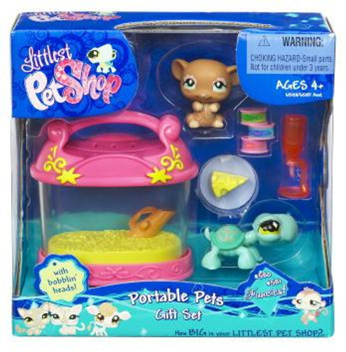 Littlest Pet Shop Portable Pets Gift Set Exclusive Figure 2-Pack #580, 581