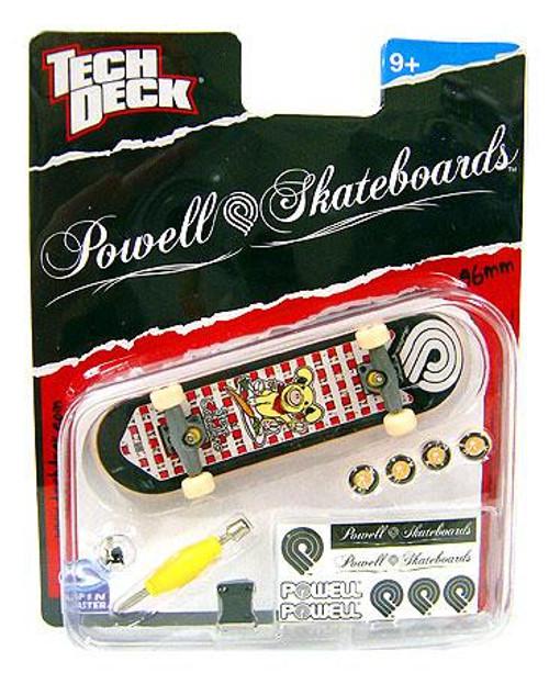 Tech Deck Powell 96mm Mini Skateboard [Steve Caballero]