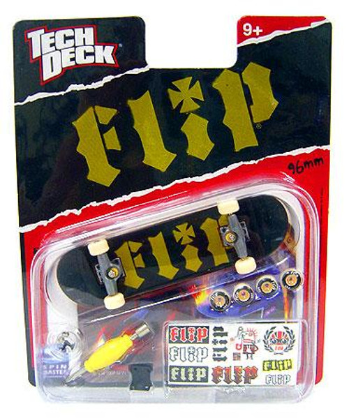 Tech Deck Flip 96mm Mini Skateboard [Black & Green]